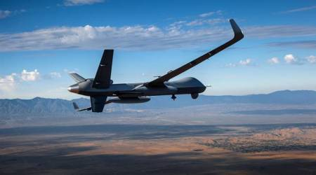 What is the predator Guardian drone?