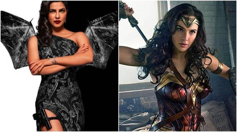 priyanka chopra, gal gadot, baywatch, wonder woman