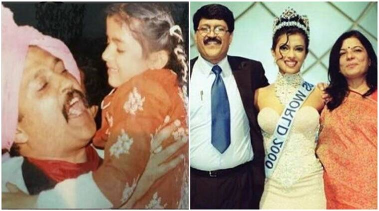 Image result for latest images of priyanka chopra with her dad
