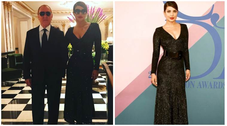 Priyanka Chopra S Attendance At The Cfda Awards Was A Little Dangerous And Sexy See Photos Video Entertainment News The Indian Express