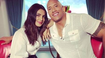 Priyanka Chopra on her Baywatch co-star: Dwayne Johnson exudes that one thing you need in ahusband