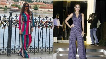 Priyanka Chopra or Malaika Arora: Who is rocking the stripes better?