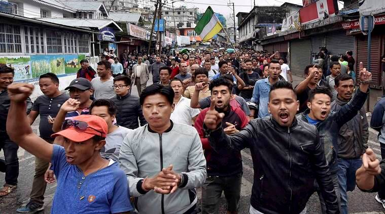 Gorkha Janmukti Morcha, GTA accord, Mamata Banerjee, Bimal Gurung, Darjeeling crisis, Gorkhaland demand, Indian express, India news