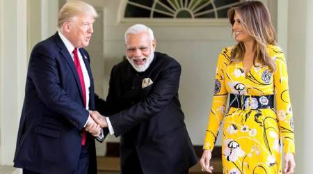 This is how 'true friend' Narendra Modi was welcomed at Donald Trump's White House