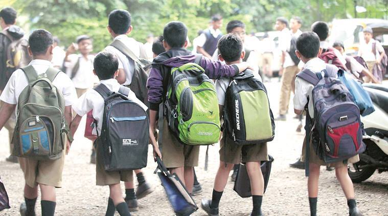 Gujarat's Hindi-medium school, gujarat Hindi-medium school, english medium school, gsstb, nitin pethlani, education news, indian express news, gujarat news