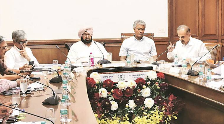 Amarinder Singh, Punjab news, Sunil Jakhar, top Punjab officials, India news, National news, Latest news, India news