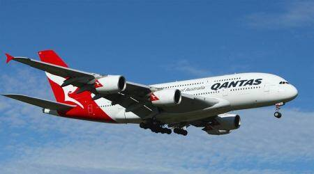 Qantas raising A$350 mln in loan, allows switching aircraft types used as collateral