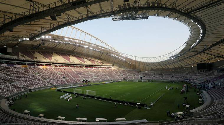 fifa world cup, world cup 2022 qatar, qatar middle east, middle east tension, sports news, world news, indian express