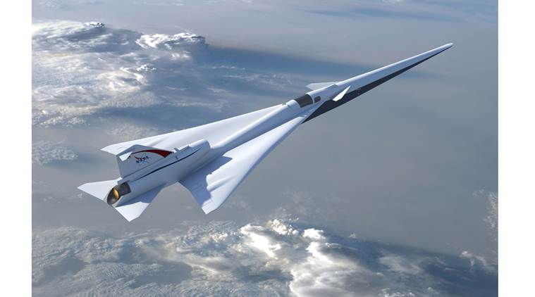 NASA, Aeronautics, Supersonic Flight, NASA creates supersonic jet, supersonic jet, quieter supersonic jet, Quieter Supersonic X-Plane