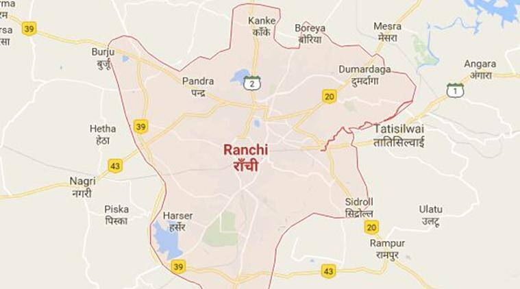 Ranchi extortionist killed, extortionist killed Ranchi, Ranchi extortionist police firing, police firing ranchi extortionist, Ranchi Police Suspended, Police Suspended Ranchi, India News, Indian Express, Indian Express News