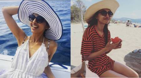 Radhika Apte's beach vacation is made of sun, sea and sand. See her holiday photos