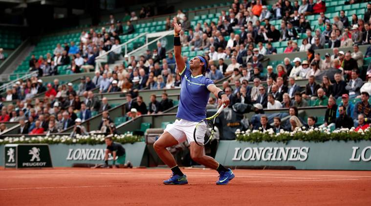 French Open 2017: Rafael Nadal through to semi-finals as Pablo Carreno Busta quits