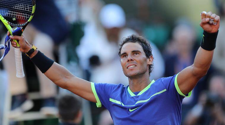 Rafael Nadal, Nadal, French Open 2017, French Open title, Tennis news, Indian Express