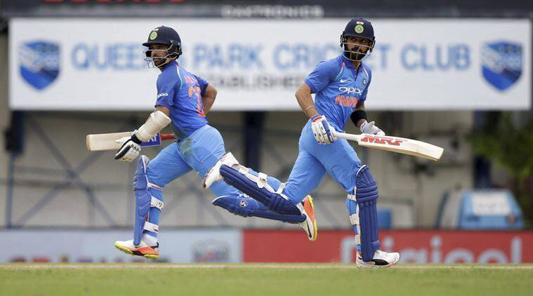 Virat kohli, ajinkya rahane, rahane, kohli, kohli on rahane, india vs west indies, ind vs wi, cricket, sports news, indian express