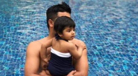 On Father's Day, Suresh Raina shares adorable video of daughter Gracia