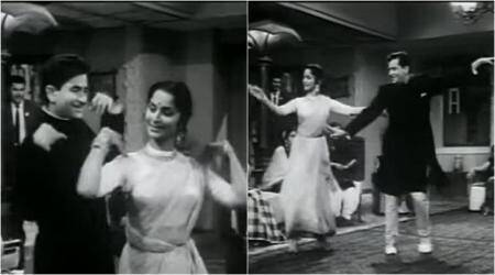 WATCH: This video of Raj Kapoor and Waheeda Rahman dancing to Shape of You is breaking the Internet right now!