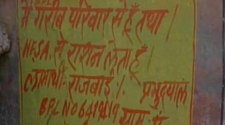 NHRC issues notice to Rajasthan government over 'I am poor' graffiti in Dausa