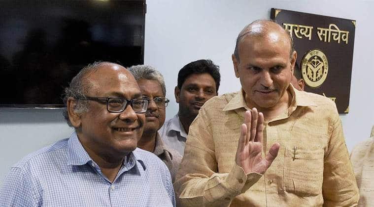 rajive kumar, uttar pradesh govt, chief secretary, indian express