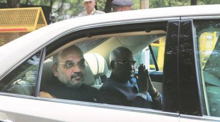 Presidential Polls: BJP brass by his side, Ram Nath Kovind files papers, reaches out to Opposition