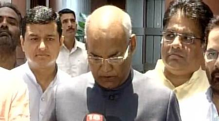 Ram Nath Kovind files nomination papers, says Presidential post should be above party politics