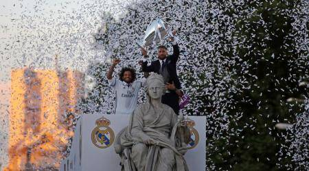Real Madrid players dominate UEFA Champions League team of the year