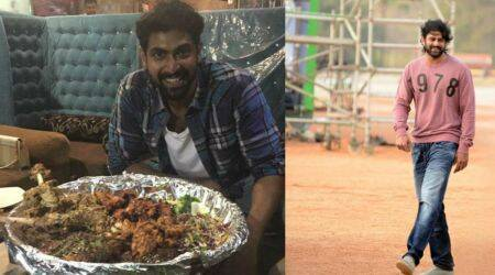 Prabhas' cheat day meal during Baahubali 2 making included 15 varieties of biryanis, reveals SS Rajamouli. Watch video