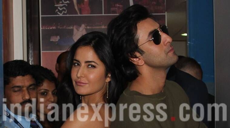 Ranbir adorably plays with an elephant, while Katrina clicks him