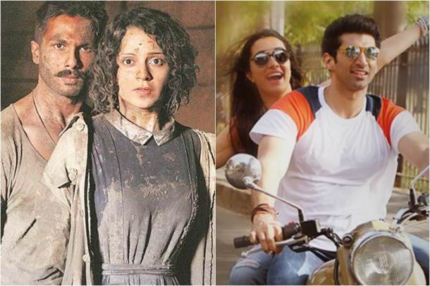 rangoon box office, shahid kapoor, kangana ranaut, ok jaanu box office