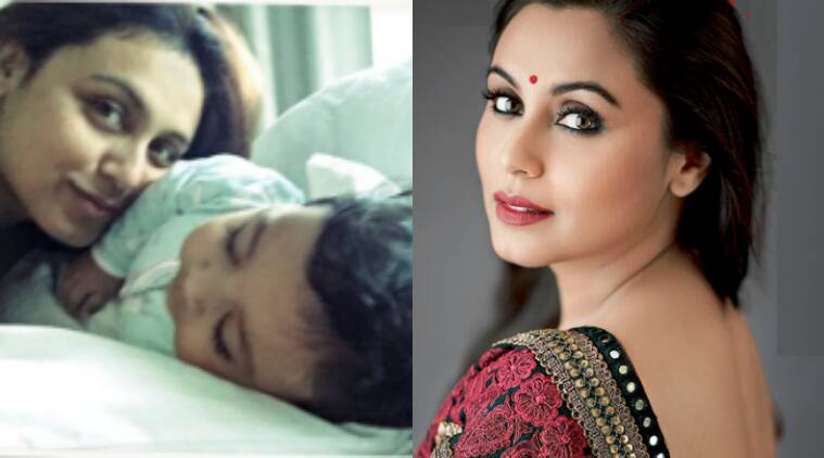 Image result for Rani Mukerji and Adira have become the most adorable mother-daughter duo in B-town.