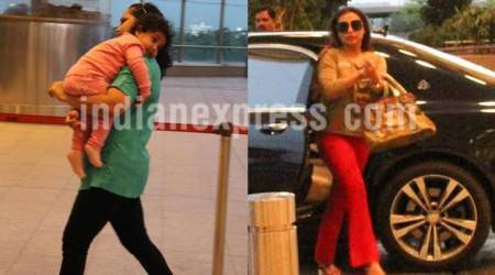 Rani Mukerji has found her best travel partner in daughter Adira, see photos