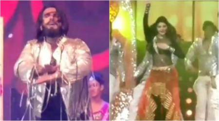 When Ranveer Singh's energy and Jacqueline Fernandez's charisma set the stage on fire. Watchvideos