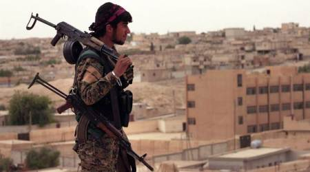 US-backed Syrian force attacks IS-held capital of Raqqa