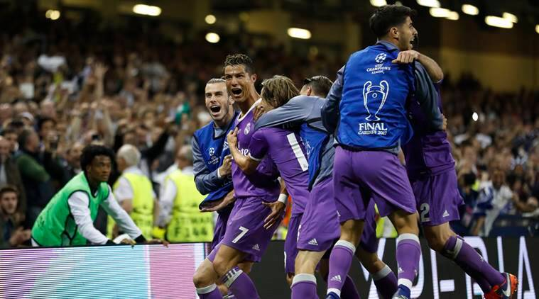 Real Madrid thrash Juventus 4-1 to win second Champions ...