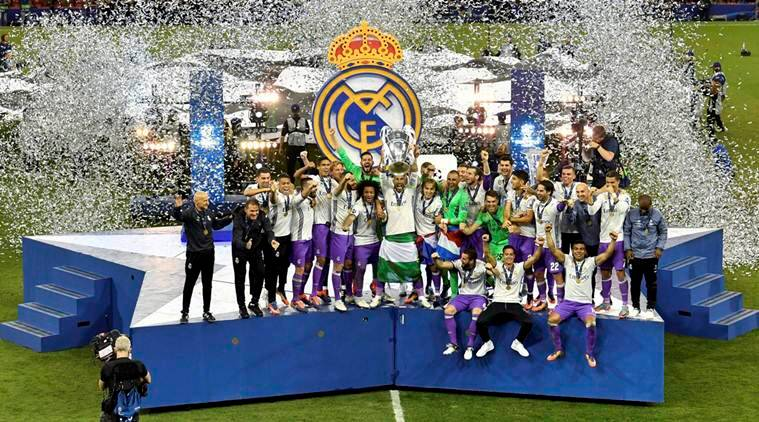 Real parade in Madrid with 12th UCL trophy