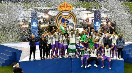 Champions League Final: Real Madrid players celebrate after winning 12th title; watch videos