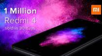 Xiaomi Redmi 4 sells over 1 million units in 30 days, claims company