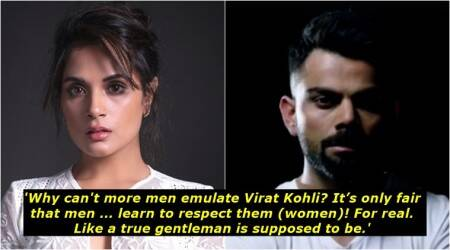 'Why can't more men emulate Virat Kohli?' — Richa Chadha's Facebook post to 'Gentlemen of our nation' goes viral