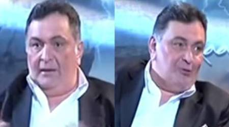 Pakistani news channel asks Rishi Kapoor, why did you call India Pak's father? Watchvideo