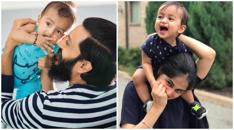 Image result for I created a miracle: Genelia on son Rahyl's birthday