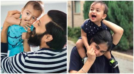 Riteish Deshmukh, Genelia Deshmukh celebrate son Rahyl's first birthday with adorable wishes. See photos, videos