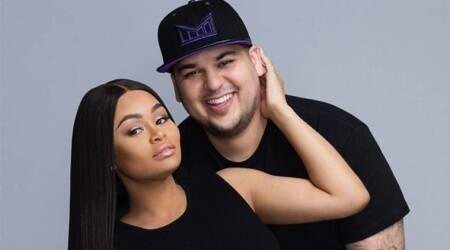 Rob Kardashian and Blac Chyna want to get along for theirdaughter