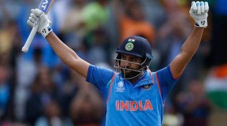 ICC Champions Trophy 2017: Rohit Sharma introduces 'new trainer' in Shikhar Dhawan's son; watchvideo