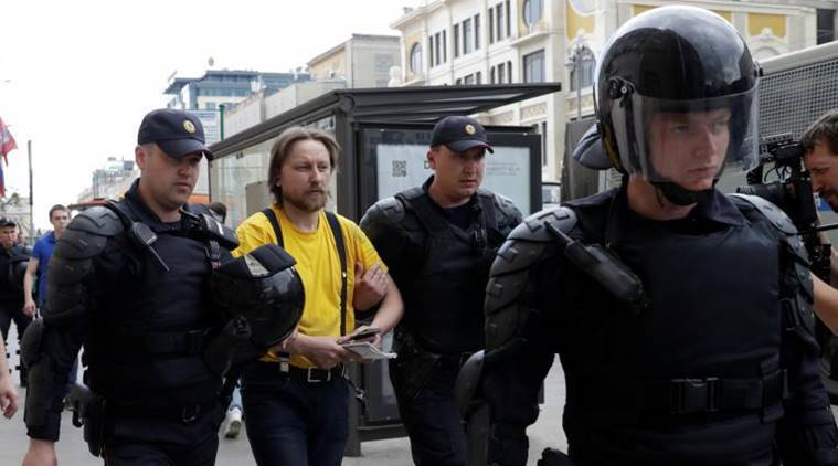 Opposition Figures Arrested As Anti-Corruption Protests Roil Russia