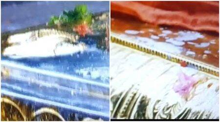 Damaged gold mast in Sabarimala repaired, security to be up