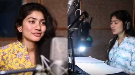 Fidaa actor Sai Pallavi dubs abusive words in Telugu and the video is going viral. See video