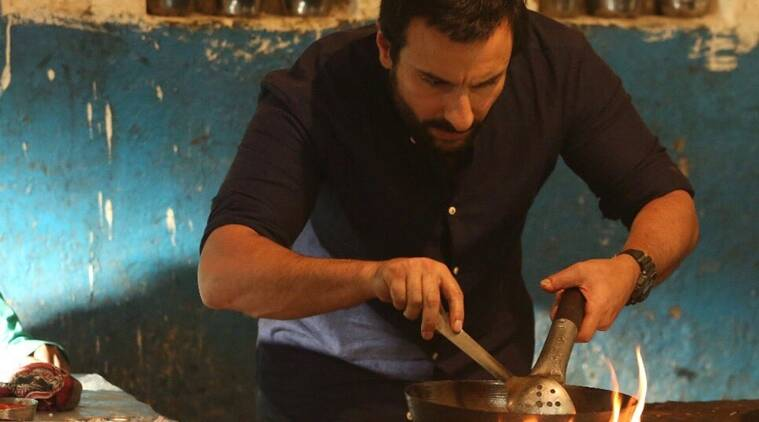 chef saif ali khan is cooking with caution in the first