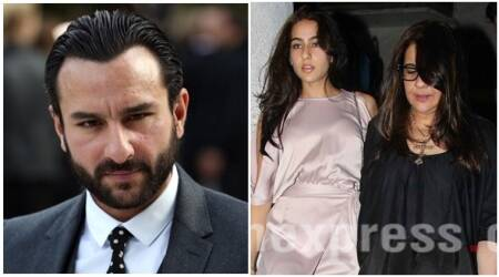Saif Ali Khan's ex-wife Amrita Singh not happy with Saif's comments on Sara Ali Khan's Bollywood debut?