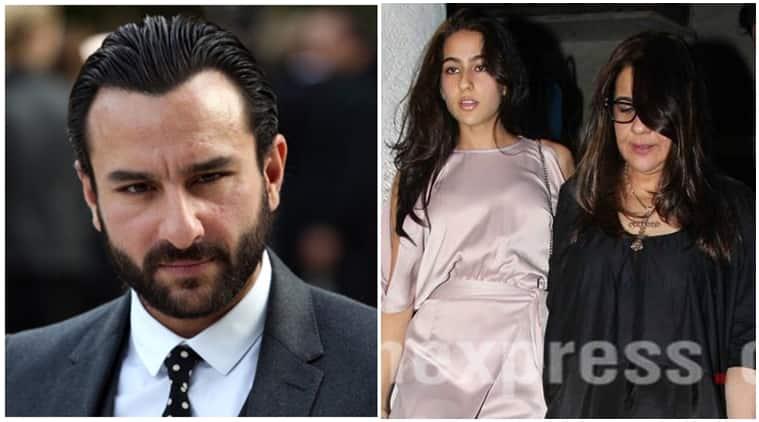 Sara Ali Khan, Saif Ali Khan, amrita singh, Sara Ali Khan photos, Sara Ali Khan bollywood debut