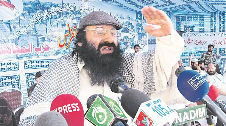 salahuddin, terrorist salahuddin, salahuddin global terrorist, india-us, pakistan terrorist, kashmiri militant, indian govt, india news, indian express