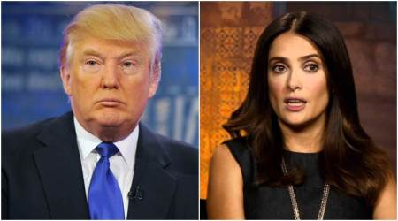 Salma Hayek recalls when Donald Trump hit on her: I told him I had a boyfriend